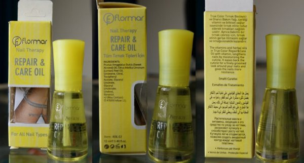Flormar Nail Therapy Oil