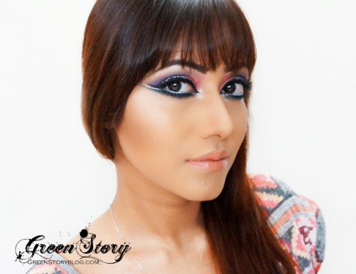 Arabic Style Eye Makeup