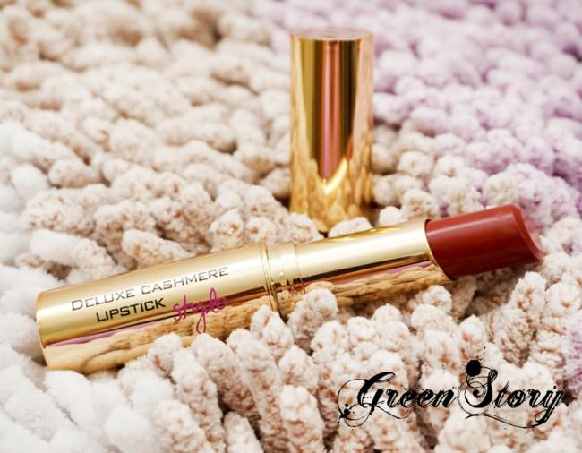 Flormar Deluxe Cashmere & Matte Lipstick