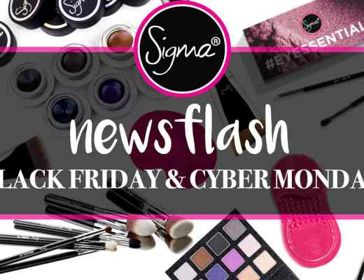 Sigma Beauty Blackfriday Promotion