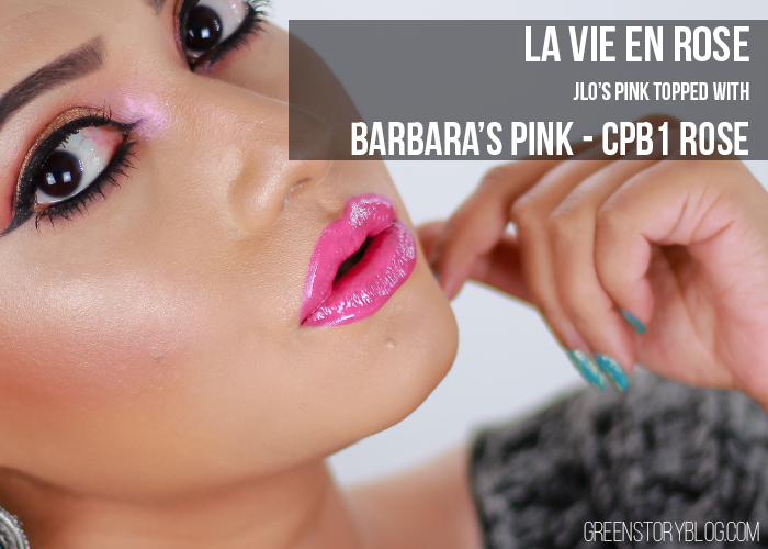 Loreal Paris La Vie En Rose Lipstick Swatch