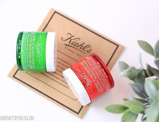 Kiehl's Skincare | Turmeric Radiance Masque & Cilantro Pollutant Defending Masque