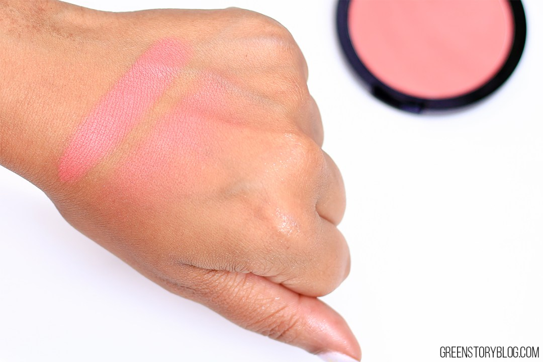 Palladio Matte Blush Swatch - Toasted Appricot