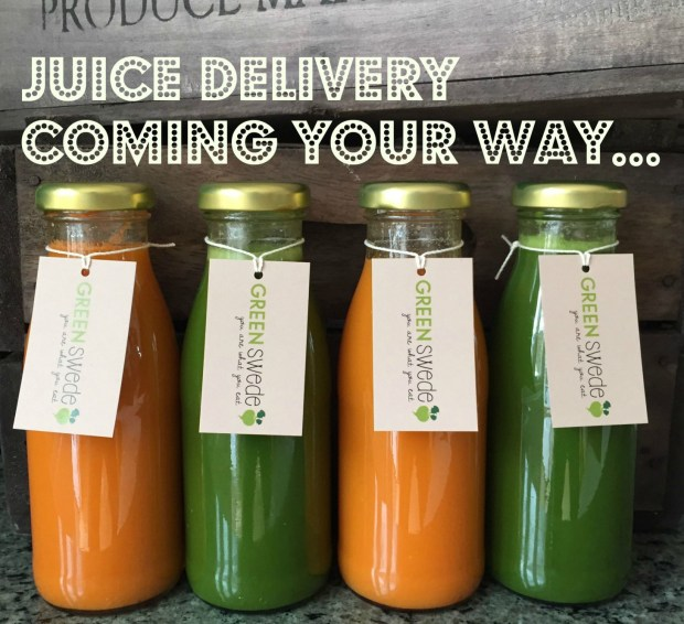 Juice delivery coming your way