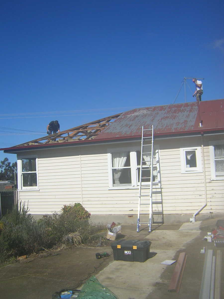 roofs and gutters a green tasmanian renovation