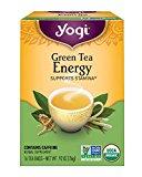 Yogi Tea, Energy Green, 16 Count (Pack of 6), Packaging May Vary
