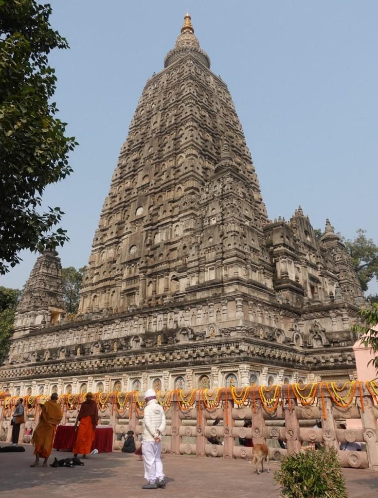 "Mahabodhi Temple or ""Great Awakening Temple"""