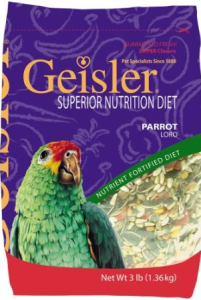 Geisler Diet Seeds for Budgies