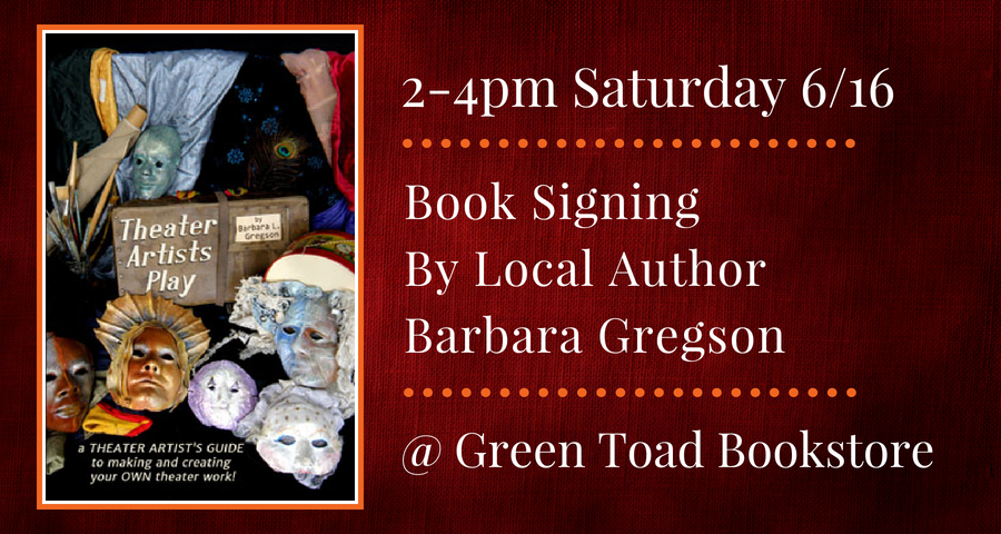 Book Signing by Barbara Gregson