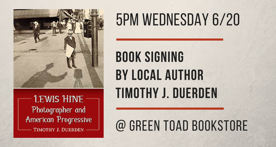 Book Signing by Tim Duerden