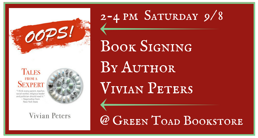 Book Signing by Vivian Peters