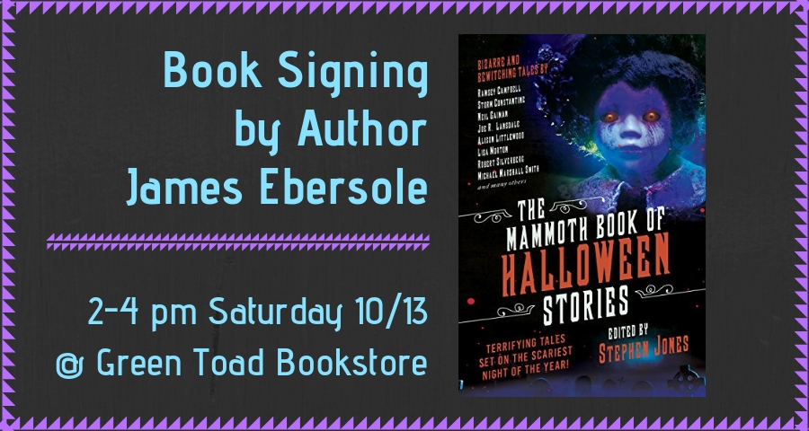 Book Signing by James Ebersole
