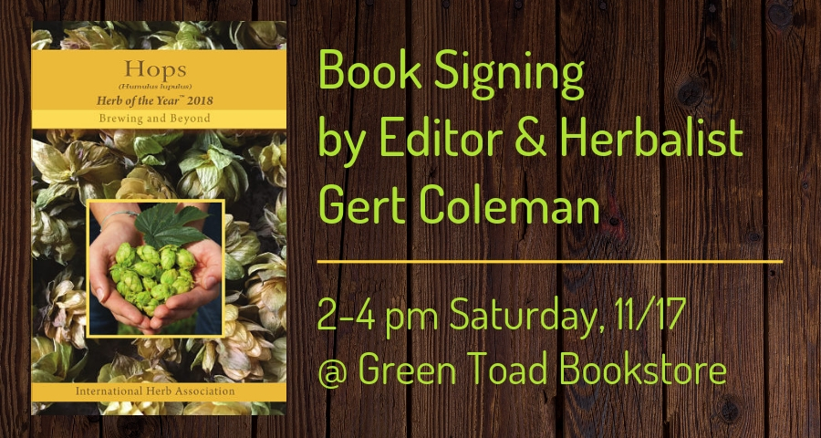 Book Signing by Gert Coleman