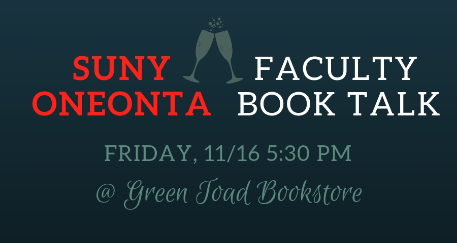 SUNY Oneonta Faculty Book Talk