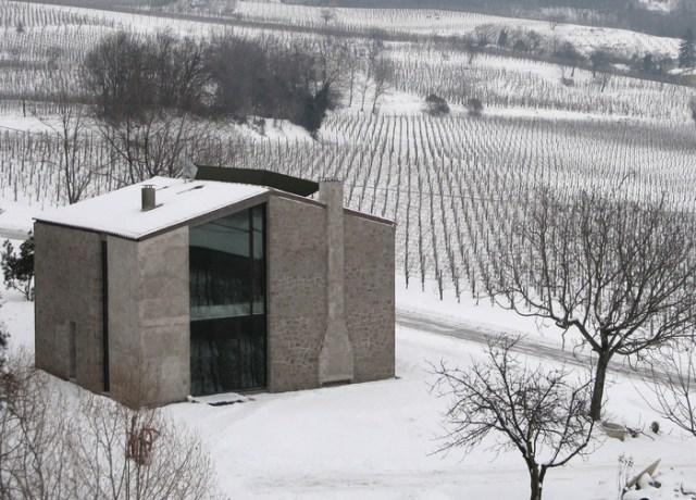 Casa 0, reforma, transformação e ampliação de Andrea Tognon. (Fonte: Andrea Tognon Architecture).
