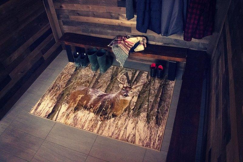 G8011 06 Chevreuil-Deer tapis carpet