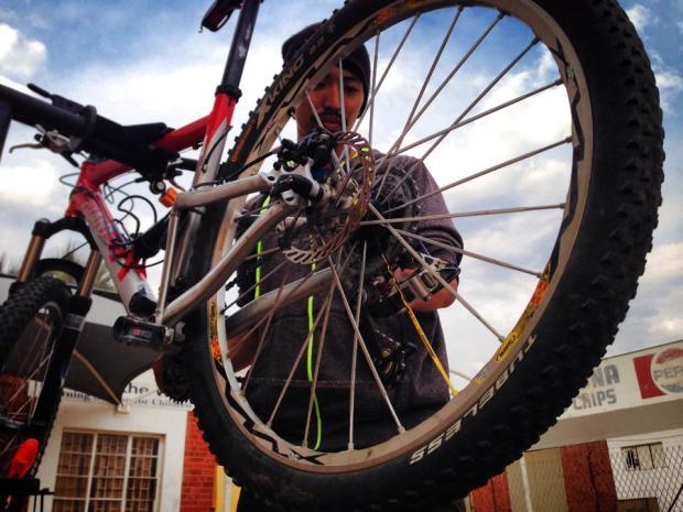 Pay maintenance thorough the wheel