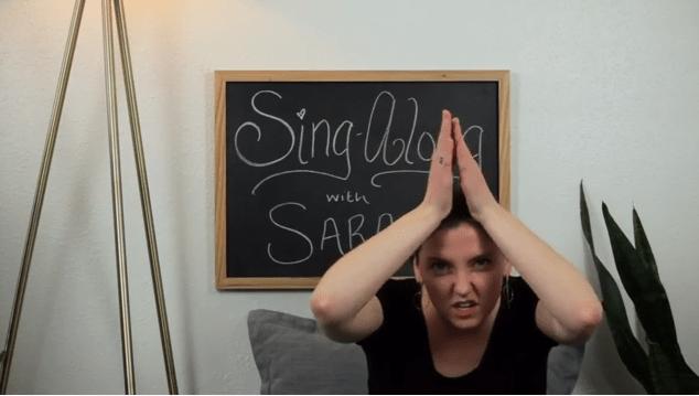 Sarah sings The Fishy song