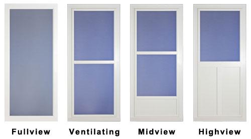 storm door replacement glass door