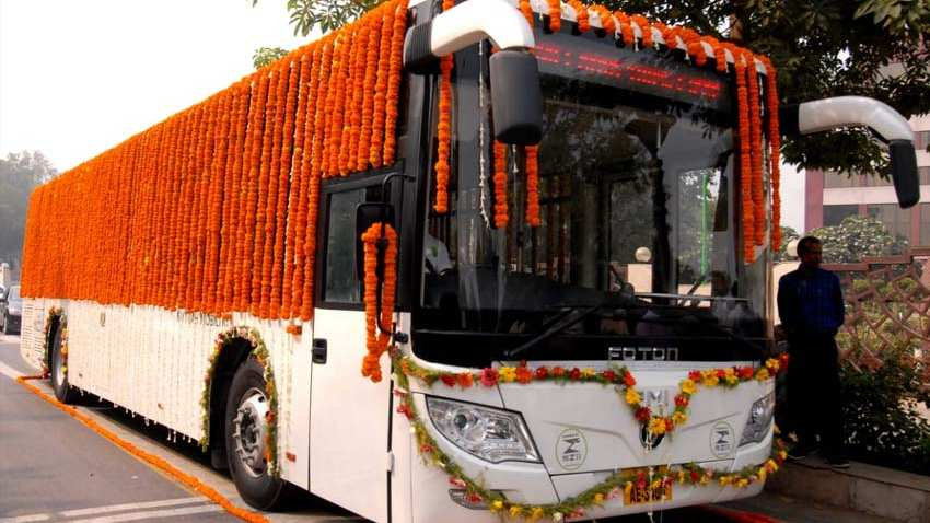 Delhi Government Will Run 1,000 Electric Buses: Green Transport