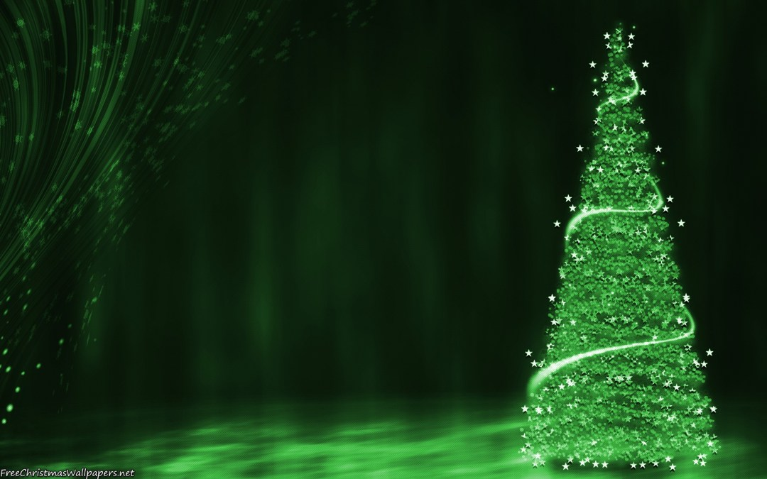 A Green Christmas is Something That We All Need!