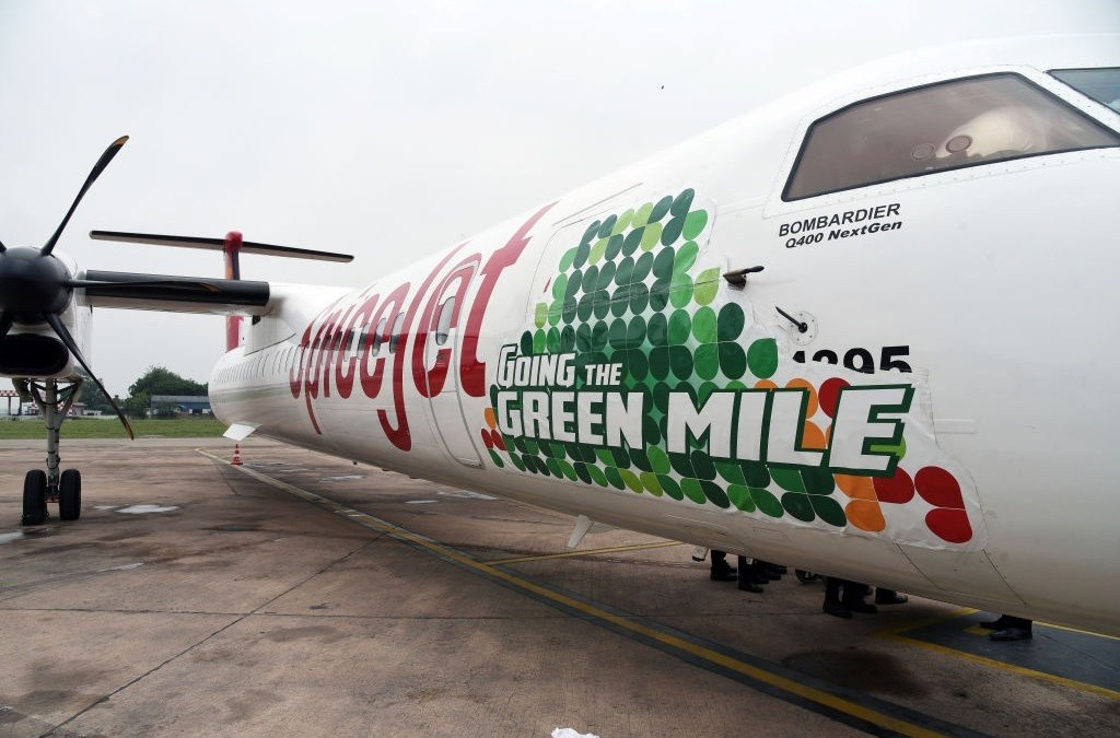 India's Gets Its First Biofuel-Powered Flight by SpiceJet: Green Transport