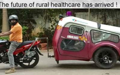 Go Green: World's first mobile solar ambulance launched in India