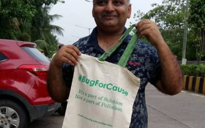 Bag for Cause: Beat Plastic Pollution for Sustainable Development Goals