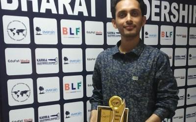Greenubuntu Evangelist Moharana Ch. Gets Bharat Leadership Award 2018