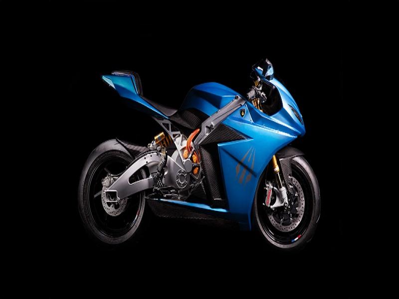 Lightning Strike Electric Sports Bike Formally Showcased