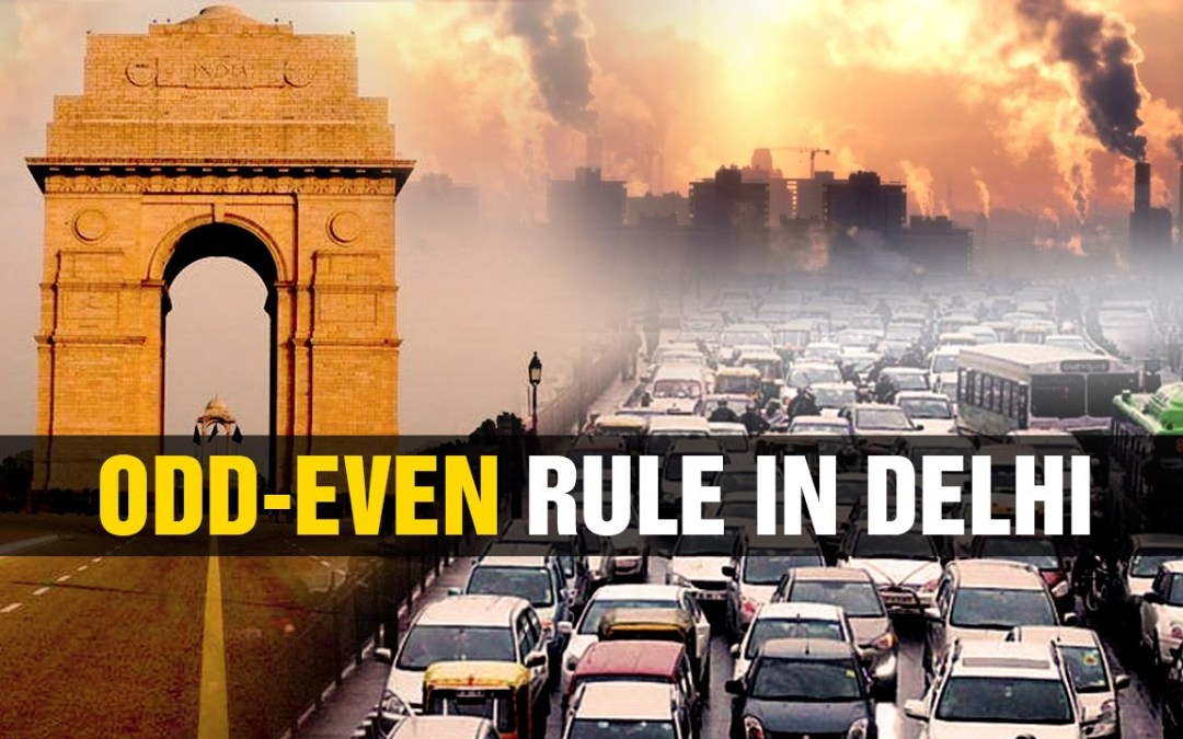 Odd even scheme? Can it control Delhi smog and air pollution?