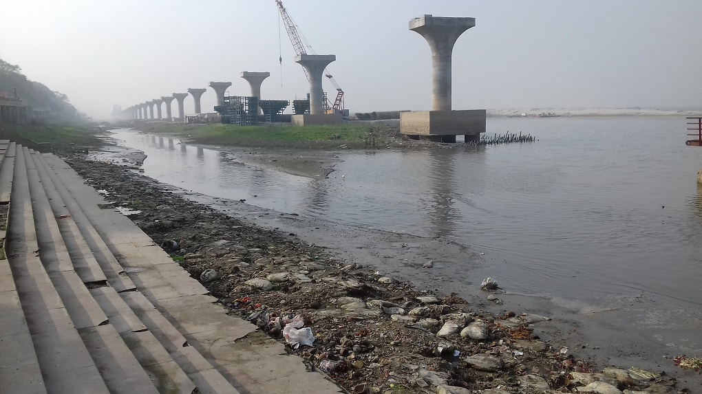 How River Ganga Is Leaving the Ghats of Patna