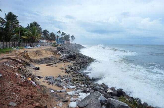 Sea Erosion Worsens After Govt Dumped Granite Rocks Along Coastline