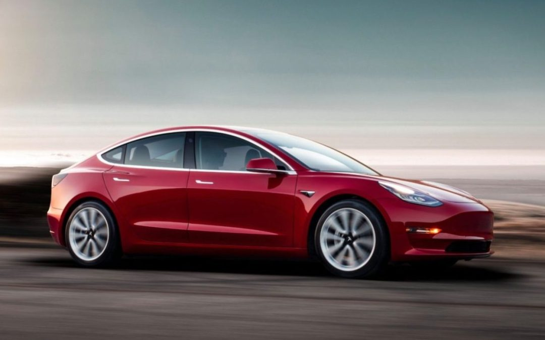 A first glimpse at the world's most awaited electric car: Tesla Model 3