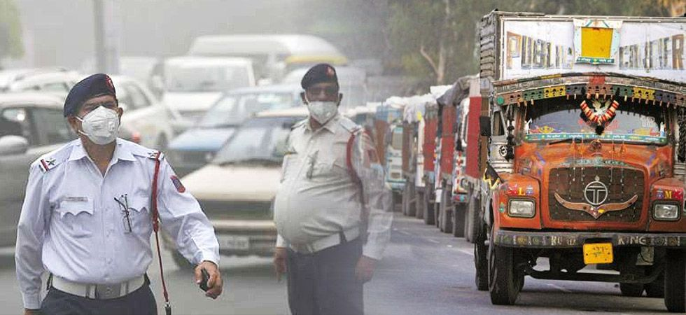 Diwali Air Pollution: Trucks banned from Entry into Delhi