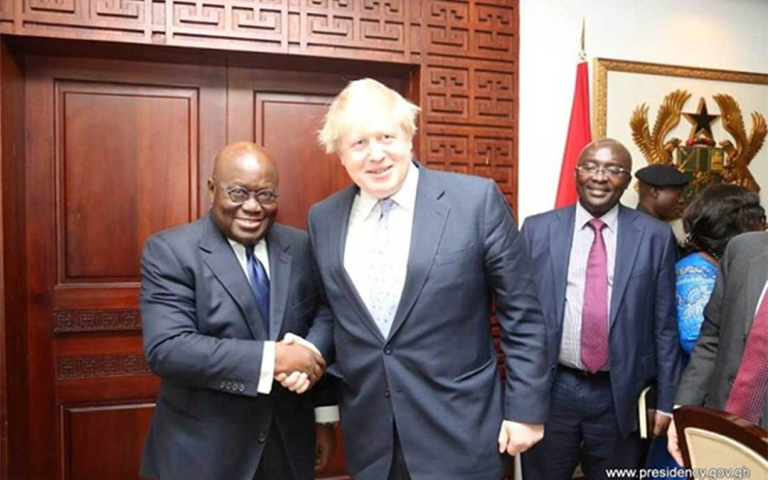 Free trade agreement between United Kingdom and Ghana