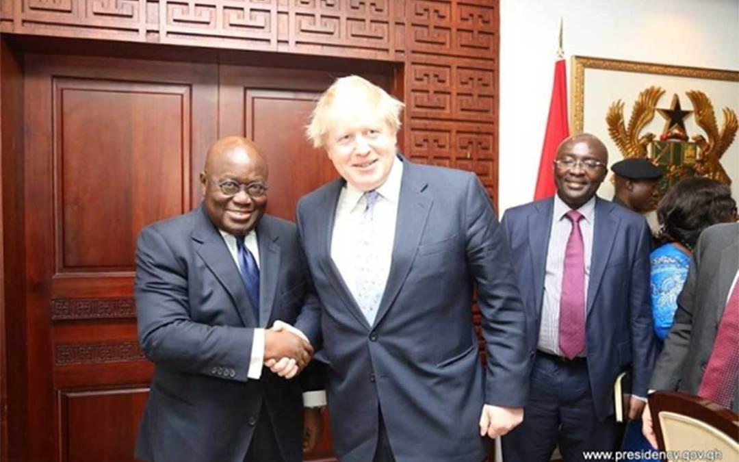 Ghana United Kingdom agreement