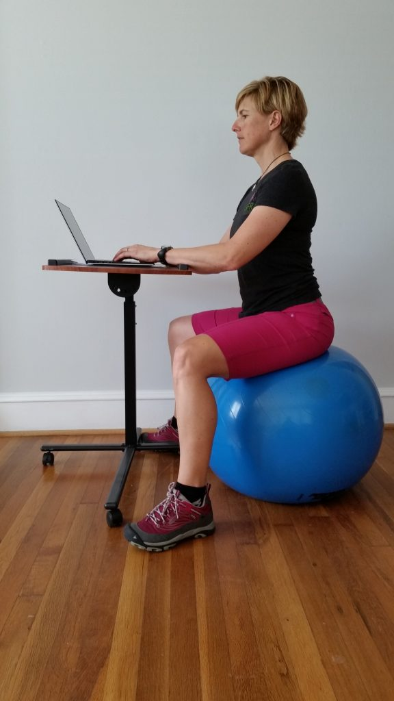 Why you should throw away your chair and sit on a ball