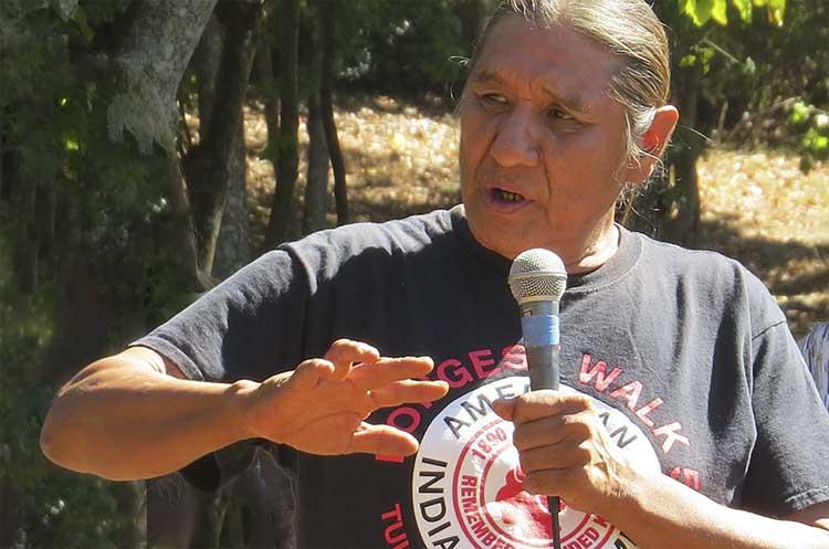 Chief Delbert Black Fox Pomani