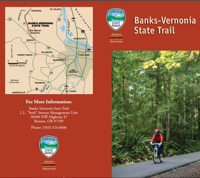 Ride the Banks-Vernonia State Trail