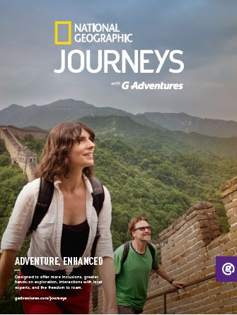 Enhance your Adventure with National Geographic Journeys