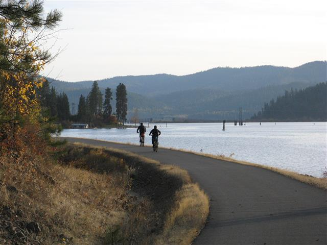 Ride the Trail of the Coeur D'Alenes