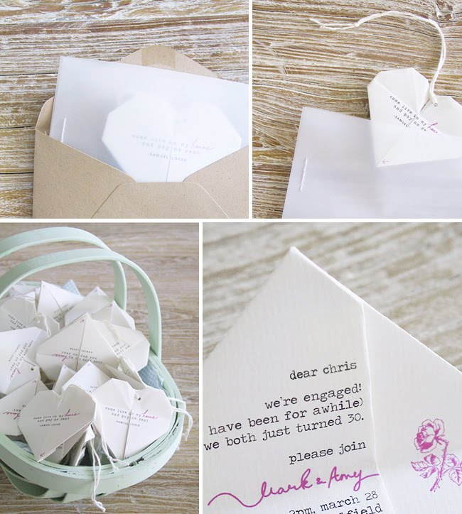 Finished Diy Wedding Invitation Createandbabble