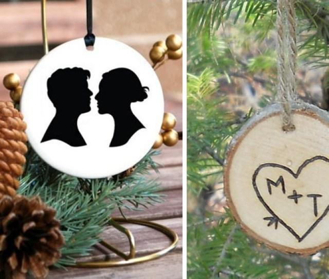 Custom Newlywed Ornaments