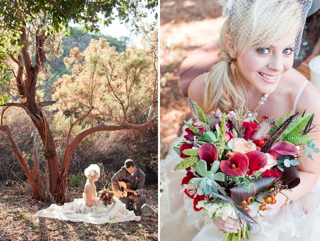 An Oh-So-Beautiful Wedding Shoot