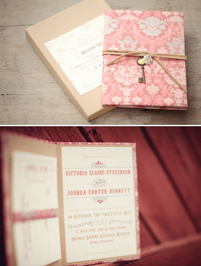 Circus Inspired Wedding Invitations