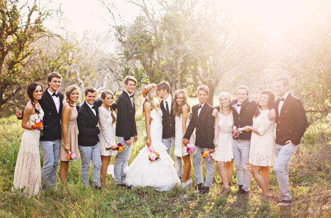 Hippie Hochzeit