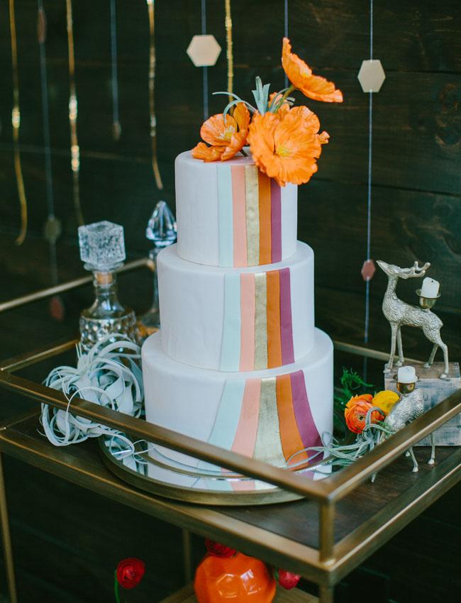 1970s Urban Chic Wedding Inpiration