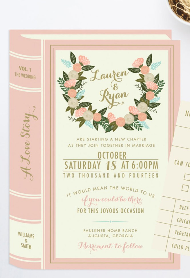 Printable Wedding Invitation Bundle