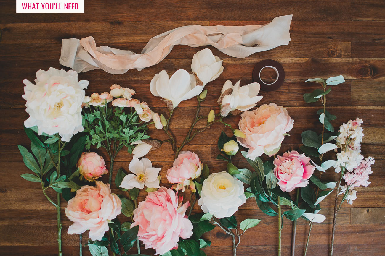 DIY Silk Flower Bouquet With Afloral